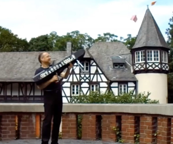 This Machine Gun Fires 120 Paper Airplanes Per Minute