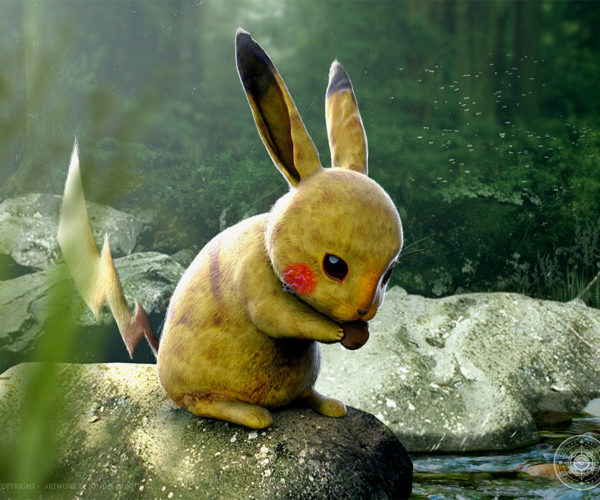 Realistic Pokémon are Super Cute: I Choose You!