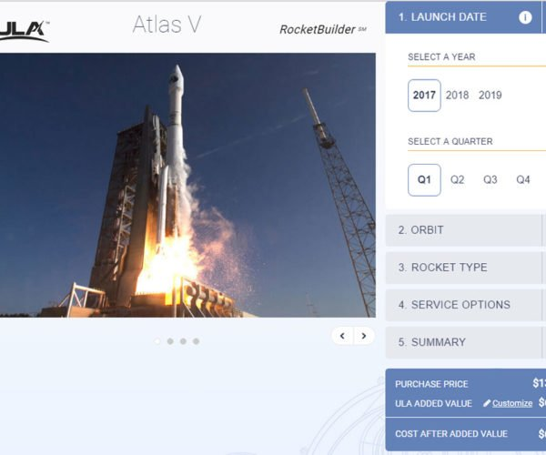 RocketBuilder Will Put Your Payload in Orbit… For a Price