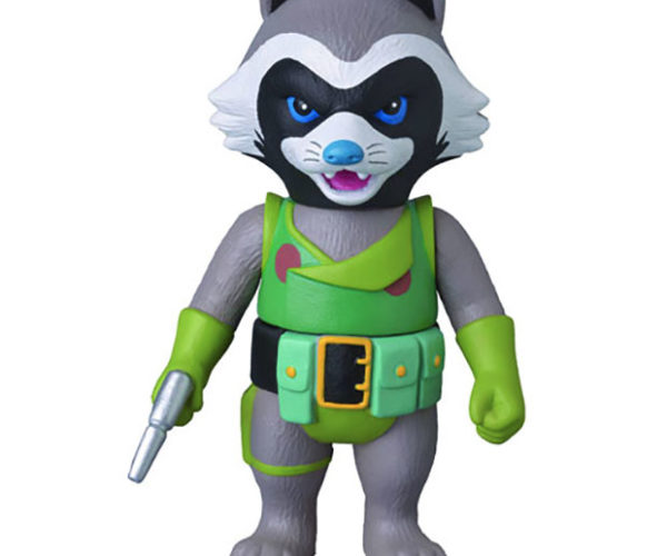 Rocket Raccoon Sofubi Vinyl Action Figure: Ain't Nothin' Like me, 'Cept Me (and This Toy)