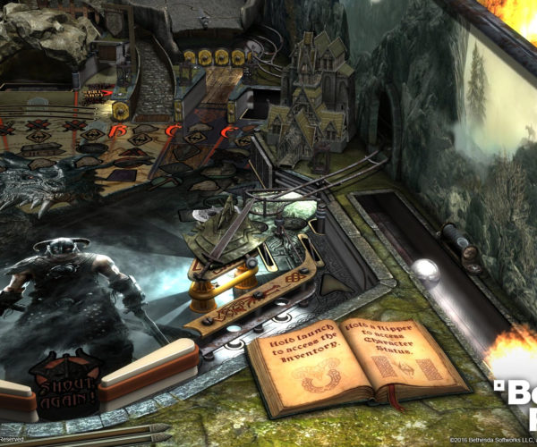 Skyrim and Fallout Virtual Pinball Machines Are Here