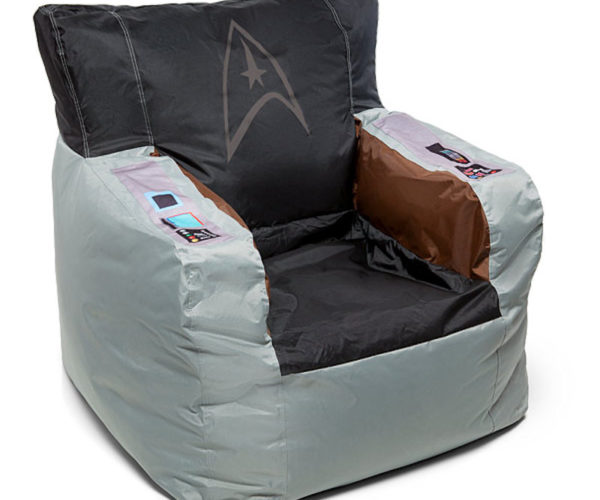 Captain Kirk's Command Chair in Bean Bag Form
