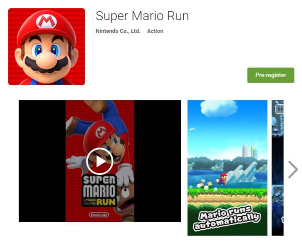 Super Mario Run Sprinting to Android Soon