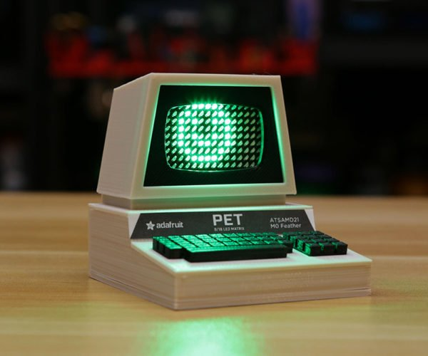 Building a Tiny Commodore PET