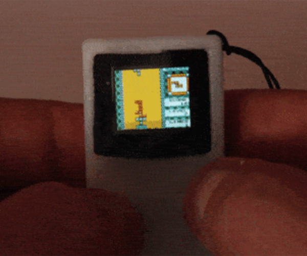 World's Tiniest Game Boy Is Perfect for Your Key Chain