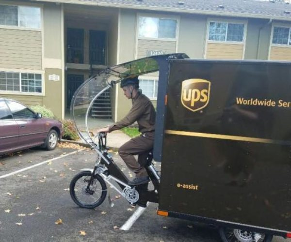 UPS Introduces Electric Trike Delivery: United Pedaling Service