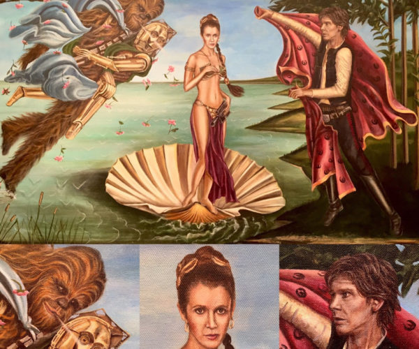 The Birth of Venus: Princess Leia Edition
