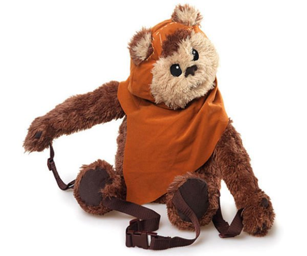 Ewok Backpack Buddy Won't Crush Your Head with Logs