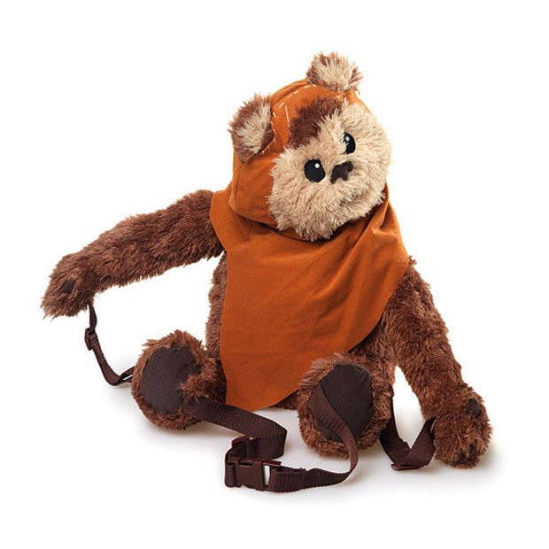 Ewok Backpack Buddy Won T Crush Your Head With Logs Technabob