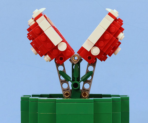 Working LEGO Piranha Plant Will Chomp Your Minifig's Butt