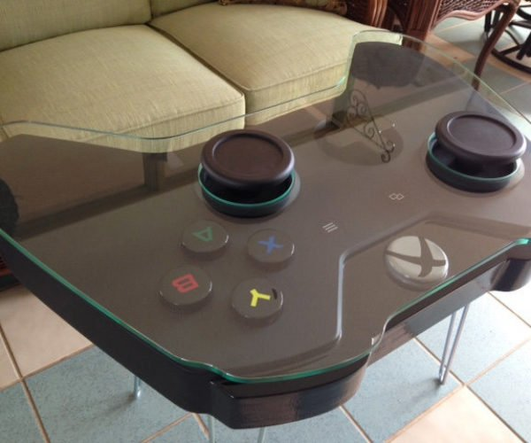 Xbox One Controller Coffee Table: Are Those Thumbsticks or Footsticks?