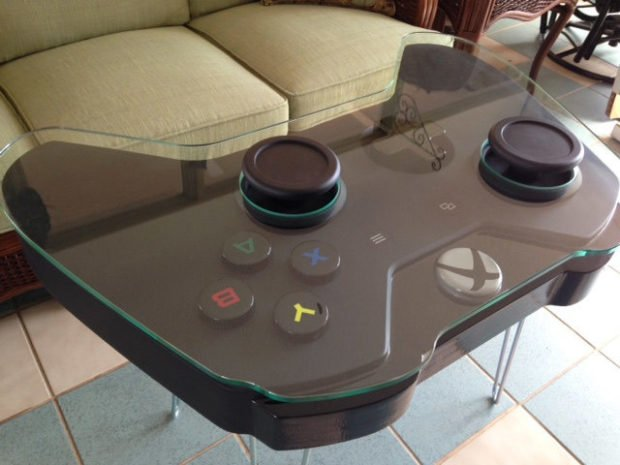 Xbox One Controller Coffee Table by WoodCurve