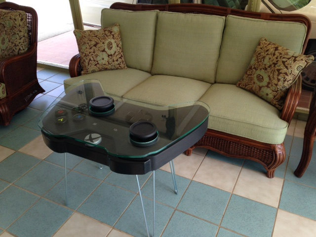Controller Coffee Table Part - 25: Xbox_one_coffee_table_4 Zoom In. The Xbox One Controller Coffee Table ...