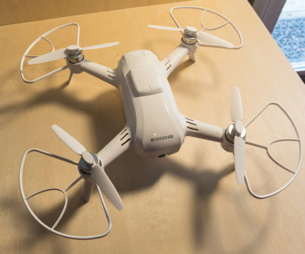 Review: Yuneec Breeze 4K Flying Camera Drone