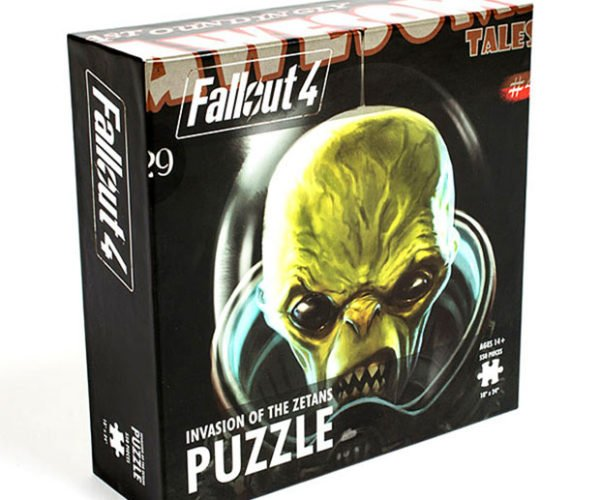 Fallout 4 Zetans Puzzle is 550 Pieces of Alien Frustration
