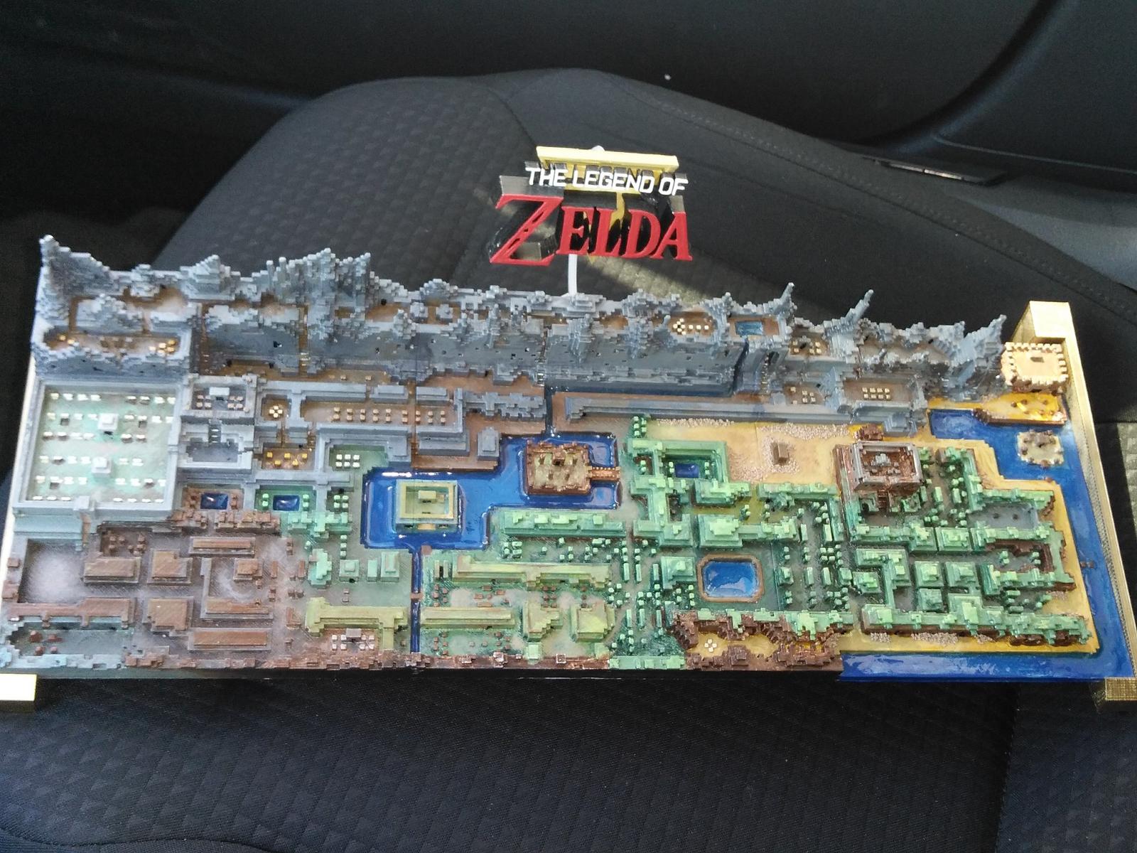Crafty image throughout printable legend of zelda map