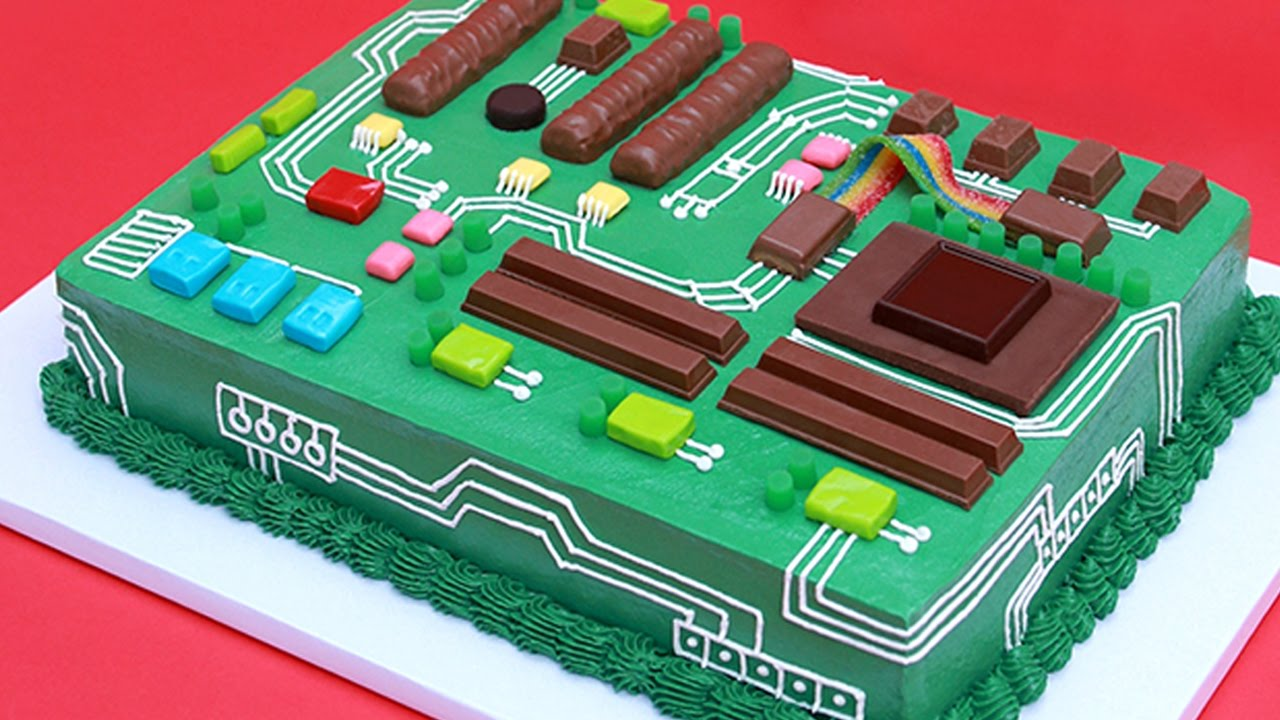 Circuit Board How Do You Make A Learn To Motherboard Cake