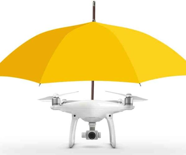Umbrella Drone Keeps Raindrops from Fallin' on Your Head