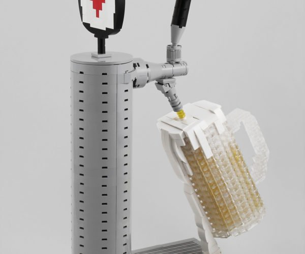 LEGO Beer Tap Gives You Blocky, Foamy Goodness