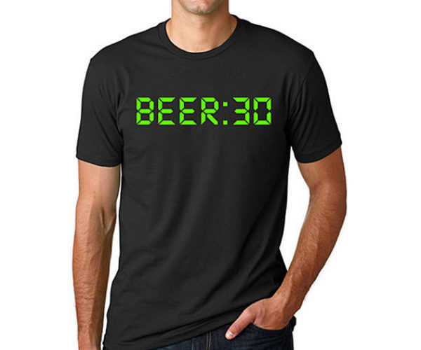 Deal: Drink up with the Beer:30 T-Shirt