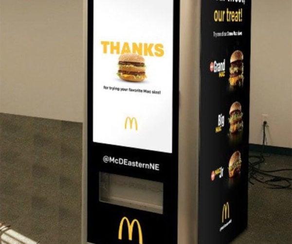 """McDonald's Testing a Big Mac """"ATM"""""""