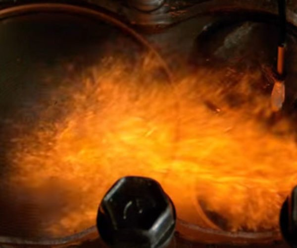 Watch Different Fuels Ignite Inside a See Through Combustion Engine