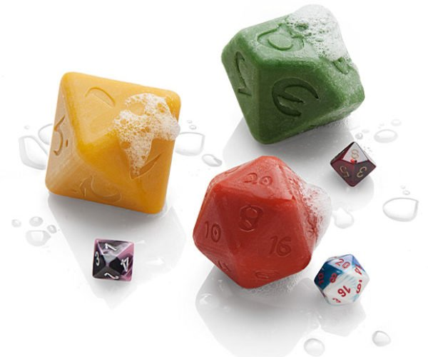 Gaming Dice Soap Set: Roll to Lather