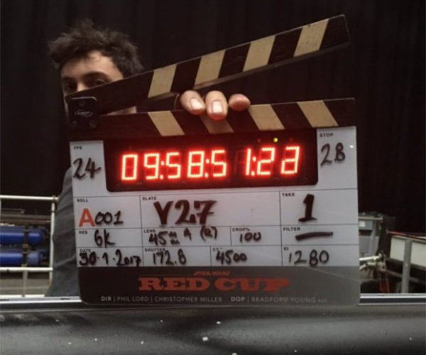 First Pic from the Set of Han Solo Star Wars Film Gives Away Codename
