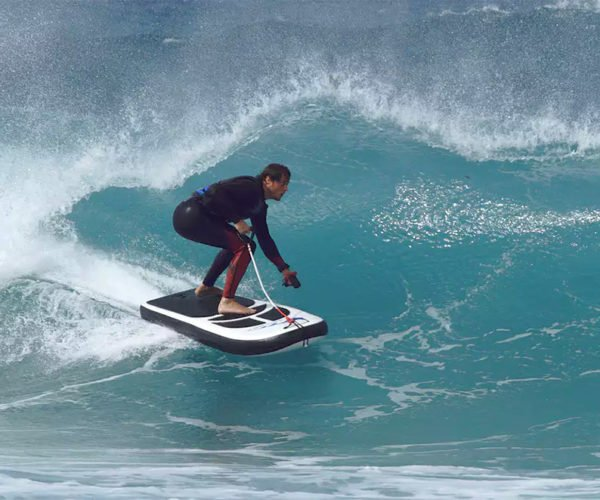 This Inflatable, Electric Surfboard Can Go 30 MPH