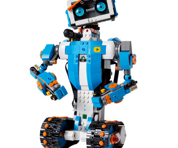 LEGO BOOST Makes Building Interactive Models Fun and Easy for Kids