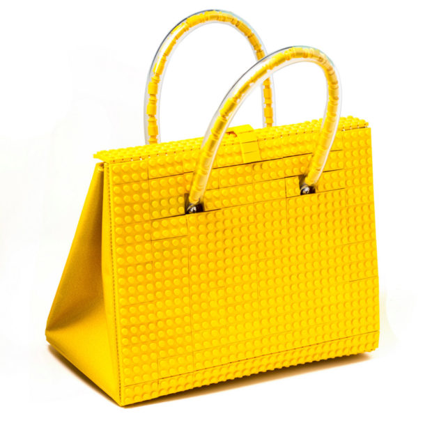 The Brick Bag: A Purse Made from LEGO