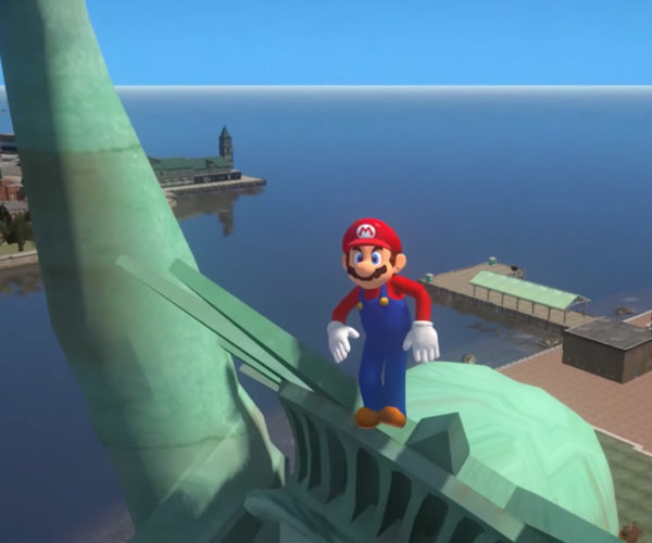 Super Mario Odyssey Meets Grand Theft Auto IV