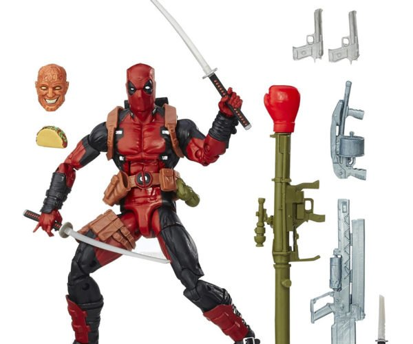 Marvel Legends Deadpool Action Figure Includes Swords, Guns, and… a Taco?