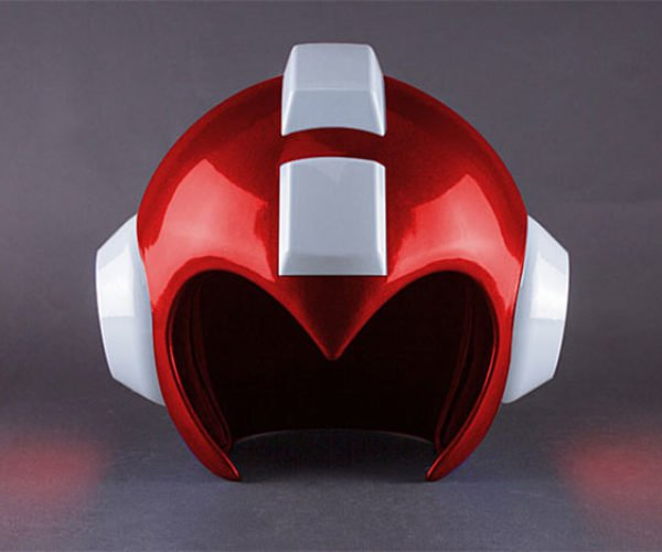 Red Mega Man Helmet: The Red Bomber