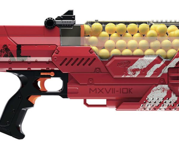 NERF Rival Nemesis MXVII-10K Blaster Will Shoot Your Eye out, Kid