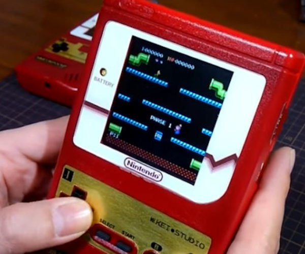 Japanese NES Classic Edition Gets Shoved Into an Old Game Boy