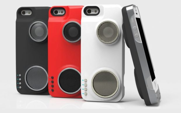 Peri Duo iPhone Case Packs Spare Battery and Speaker