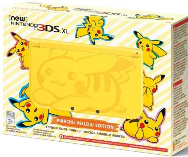 Pikachu Nintendo 3DS XL Finally Gets a U.S. Release
