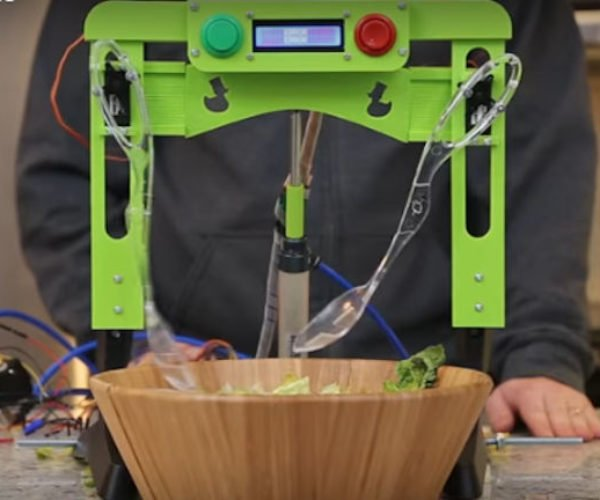 Useless Salad Robot Wants to Toss Your Salad