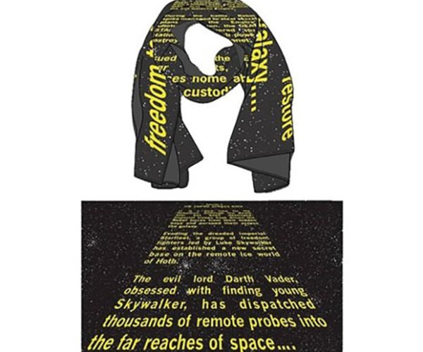 Star Wars Opening Crawl Infinity Scarves