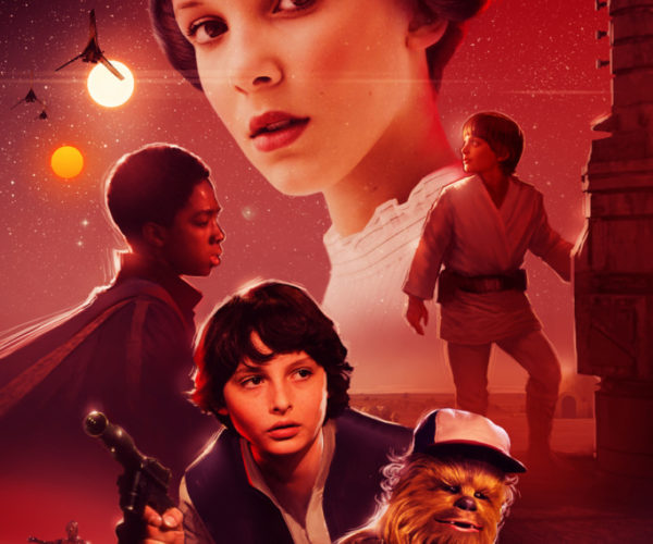 Star Wars + Stranger Things = Star Things
