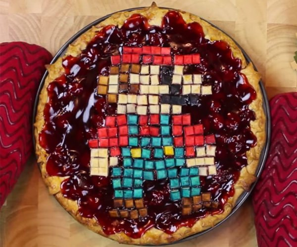 How to Make a Pixel Perfect Super Mario Pie