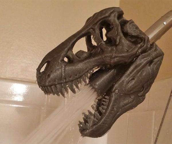 T. Rex Shower Head: Dinoshower
