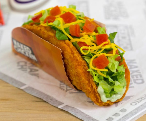 Taco Bell Naked Chicken Chalupa: The Chicken is the Shell