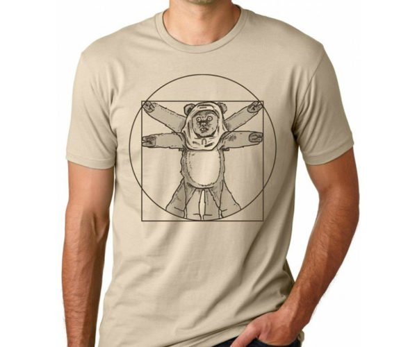 Deal: Da Vinci Ewok T-Shirt