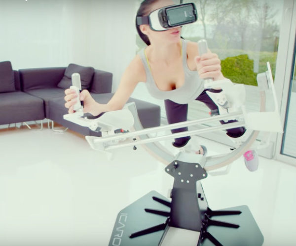 This VR Exercise Equipment Lets You Fly like an Eagle