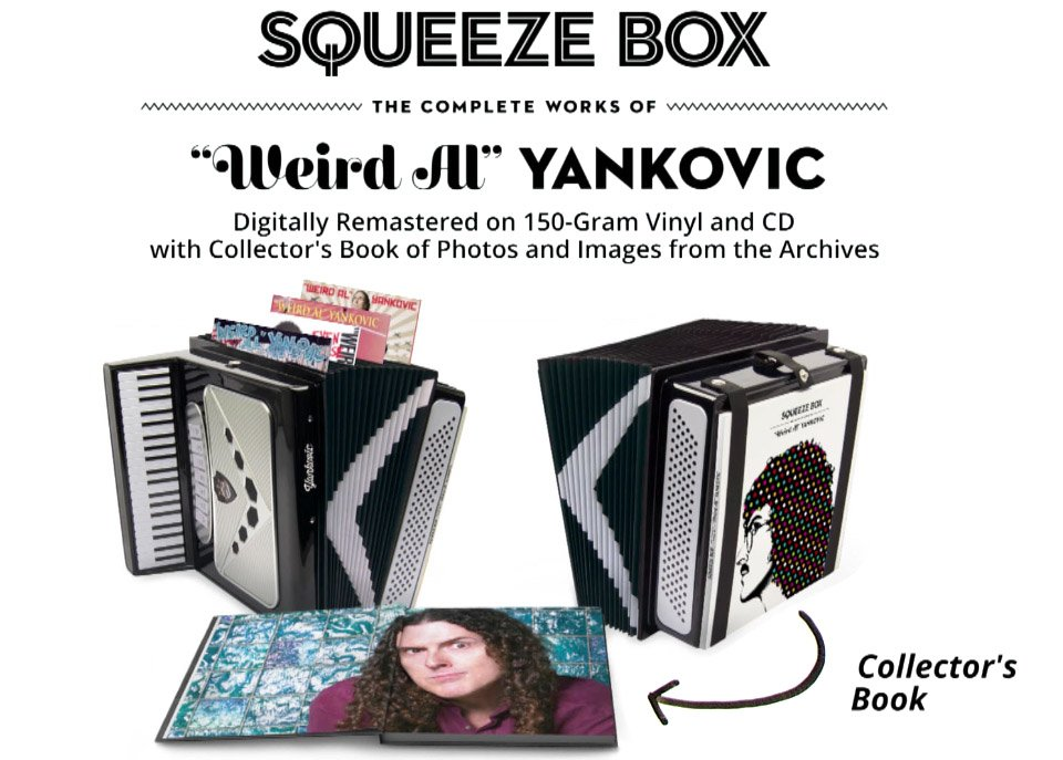 Weird Al Yankovic Releases A Box Set In An Accordion