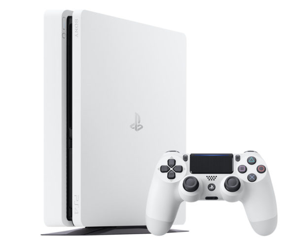 Glacier White PS4 Slim Coming Soon