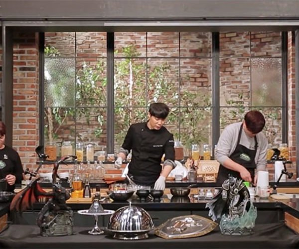World of Warcraft Cooking Show Pops up in South Korea