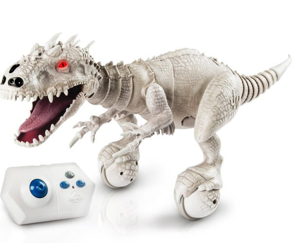 Indominus Rex Robot Wants to Eat Your Other Dinosaur Toys